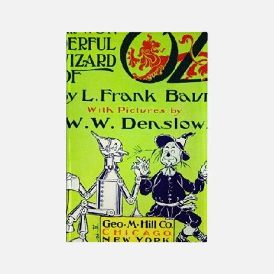 Wonderful wizard of oz Rectangle Magnet