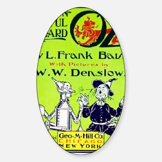 Wonderful wizard of oz Sticker (Oval)