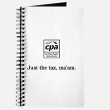 Just the tax ma'am Journal