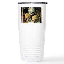Pyramid of Skulls2 Travel Mug