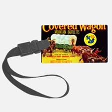 Covered Wagon Bartletts Luggage Tag