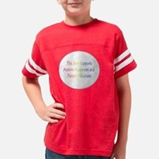 Austim Awareness Youth Football Shirt