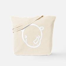 r-black Tote Bag