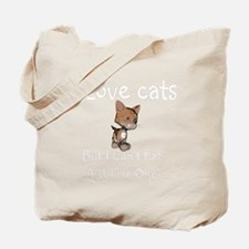 cats-black. Tote Bag