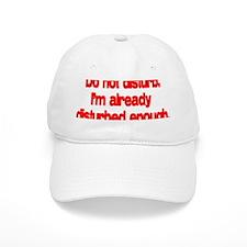 disturb-black Baseball Cap
