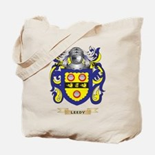 Leedy Coat of Arms - Family Crest Tote Bag