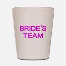 BRIDES TEAM 2 Shot Glass