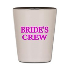 BRIDES CREW 2 Shot Glass