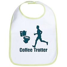 Coffee Trotter Bib