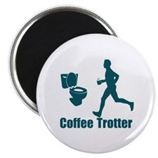 Coffee Trotter Magnet