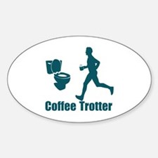 Coffee Trotter Decal