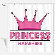 Custom Princess Shower Curtain