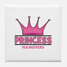 Custom Princess Tile Coaster