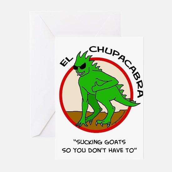 Chupacabra Greeting Cards (Pk of 10)