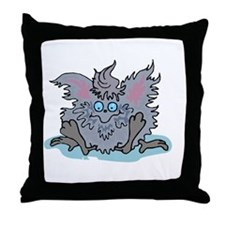 dustbunnyy copy Throw Pillow