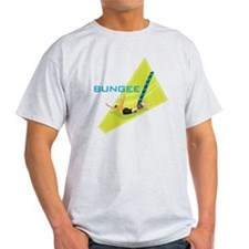 bungee jumping graphic copy T-Shirt