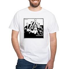 Abdula Cigarettes #1 White T-Shirt