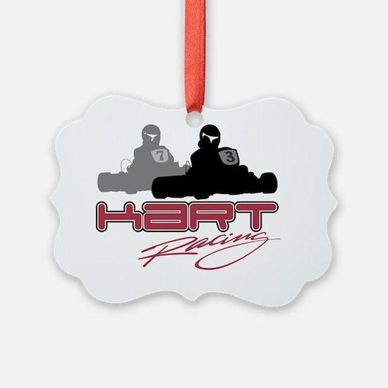 kart racing copy Ornament