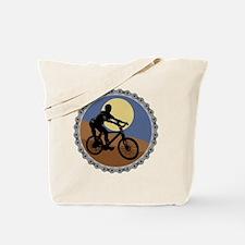 mountain biking chain design copy Tote Bag