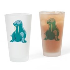 walrus copy Drinking Glass