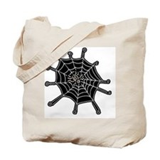 spider and web copy Tote Bag