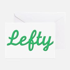 Lefty (Green) Greeting Cards (Pk of 10)
