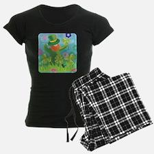 colorful lephrecaun design Pajamas