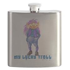 my lucky troll Flask