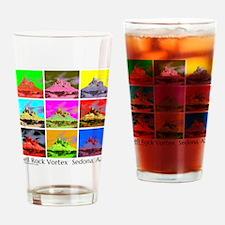 Bell Rock Vortex Sedona AZ Drinking Glass