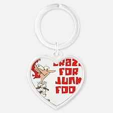 junk food Heart Keychain