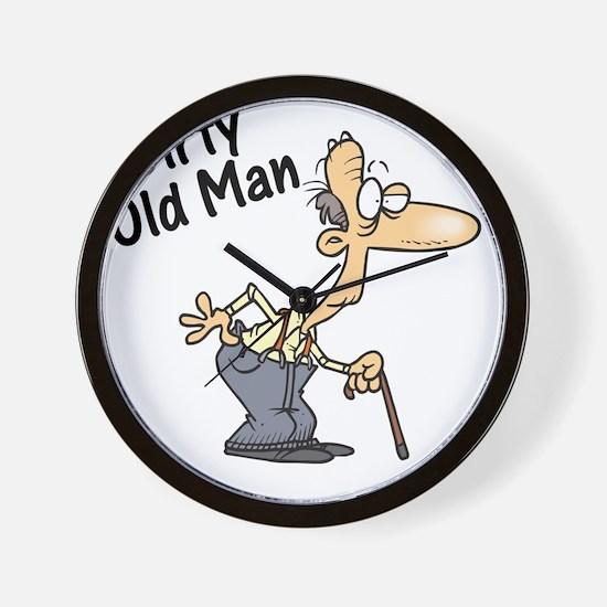 dirty old man Wall Clock