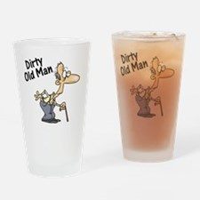 dirty old man Drinking Glass