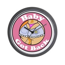 baby got back Wall Clock