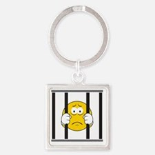 smiley41 Square Keychain