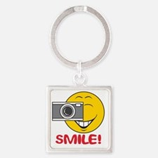 smiley73 Square Keychain