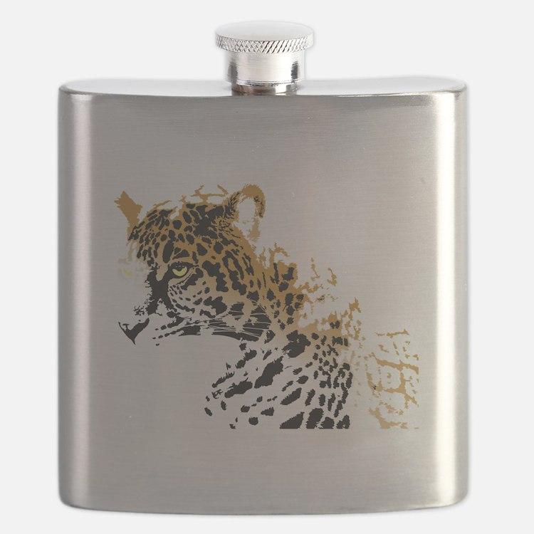 Jaguar Big Cat Flask
