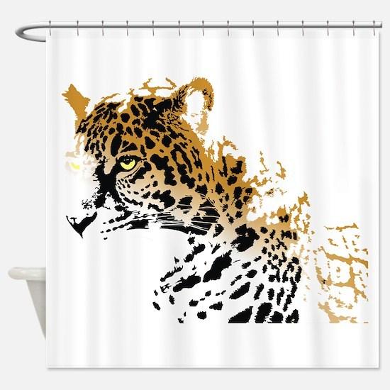 Jaguar Big Cat Shower Curtain