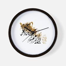 Jaguar Big Cat Wall Clock