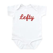 Lefty (Red) Infant Bodysuit