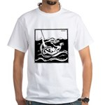 Abdula Cigarettes #3 White T-Shirt