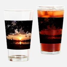 A Disney Sunset Drinking Glass