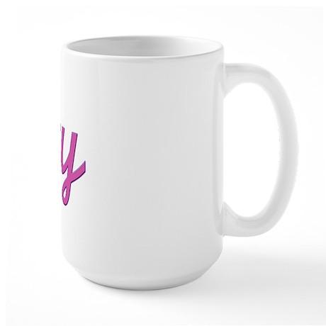 Lefty (Purple) Large Mug