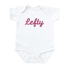 Lefty (Pink) Infant Bodysuit