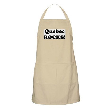 Quebec Rocks! BBQ Apron