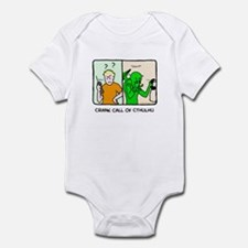 Crank call of cthulhu Infant Bodysuit