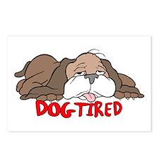 Ako sa dnes máš? 6 - Stránka 4 Dog_tired_cartoon_postcards_package_of_8