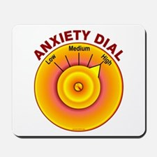 Anxiety Dial on High Mousepad