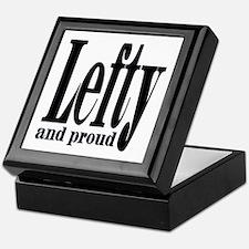 Lefty and Proud Keepsake Box