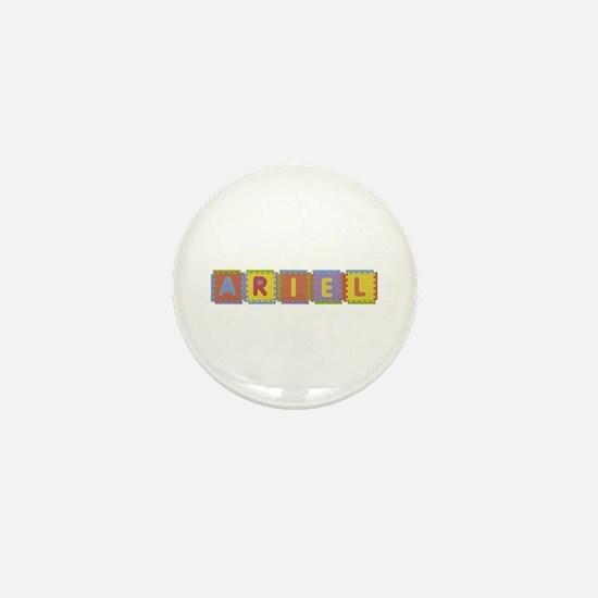 Ariel Foam Squares Mini Button