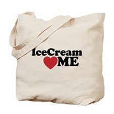 Ice Cream Loves Me Tote Bag